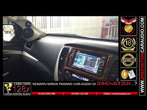 Paket audio mobil Pajero   1 hari pengerjaan   Innovation car audio Jakarta