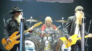 ZZ Top Got me Under Pressure (Live London 28th October 2009)