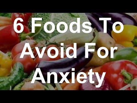 anxiety foods skin dry avoid
