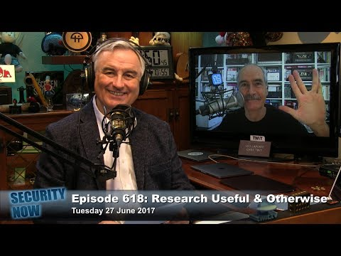 Security Now 618: Research: Useful and Otherwise