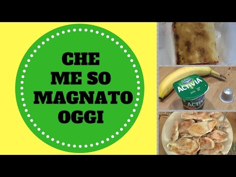 CHE ME SO MAGNATO OGGI (WHAT I EAT IN A DAY) 01-09-16