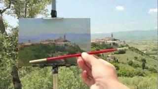 Metodo comparativo en pintura al aire libre