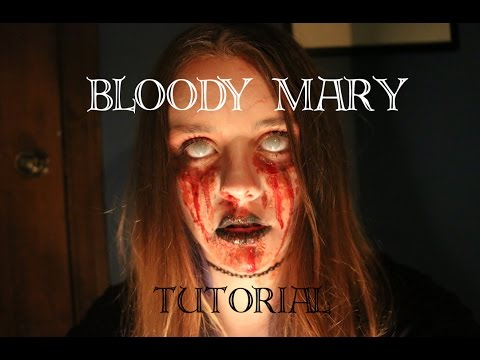 Bloody Mary TUTORIAL ~ Days of Halloween