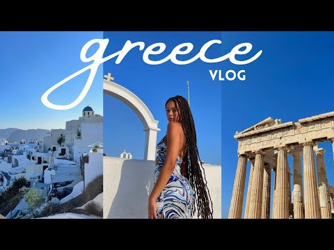 slowing down in greece! | greece travel vlog 2021: santorini, mykonos, athens