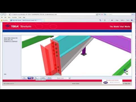 Tekla 4 Publish Model As Webpage