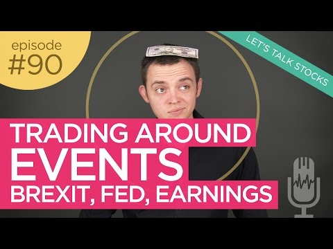 Ep 90: Trading Around Events, Brexit, Fed, Earnings