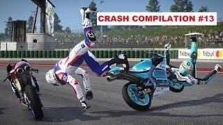 MotoGP 17 | Crash Compilation #13 | PC GAMEPLAY | TV REPLAY Moto3 game