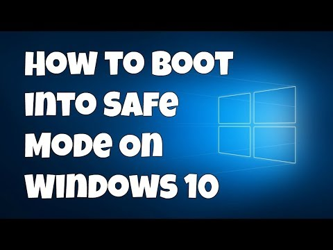 how to go into safe mode on windows 10
