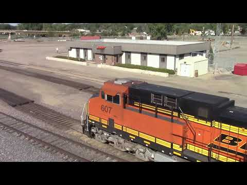 Railfanning from Ross, North Dakota and Minot, North Dakota