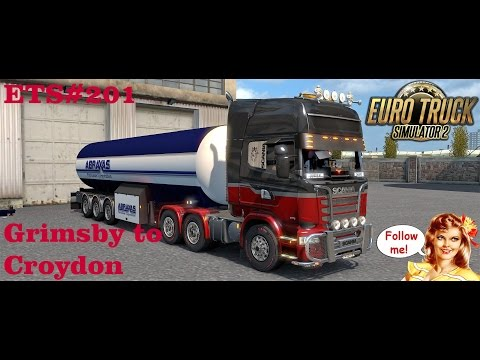 ETS#201  Transporting 21 Ton of Vinyl Chloride from Grimsby to Croydon 408 KM