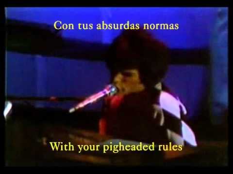 Queen - Death on two legs (dedicated to...) (with lyrics / con letra)