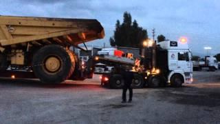 Dump Truck Komatsu 785-5 Alysandratos special transport