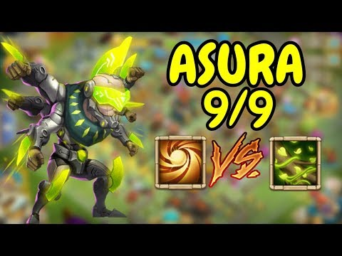 Asura L 9/9 Sacred Light VS 9/9 Vital Boon L Castle Clash