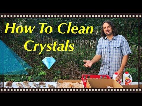 How To Clean Quartz Crystals & Amethyst