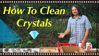 How To Clean Quartz Crystals & Amethyst