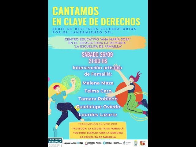 CANTAMOS EN CLAVE DE DERECHOS - Recital Celebratorio N°3