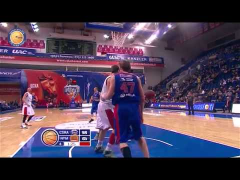 Play of the Day - Victor Khryapa & Andrey Kirilenko (CSKA)