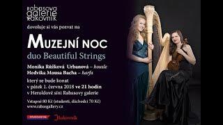 Muzejní noc - Duo Beautiful Strings v RG Rakovník 1.6.2018