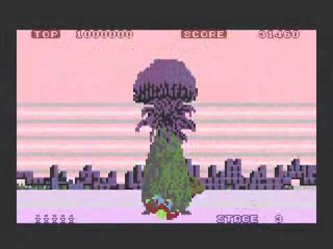 Space Harrier - port para Atari XL/XE - compilación de niveles 1 al 7