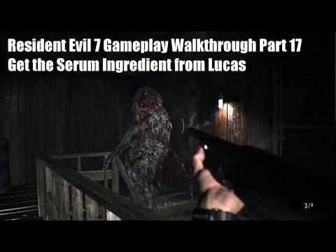 Get the Serum Ingredient from Lucas - Resident Evil 7 Gameplay Walkthrough Part 17