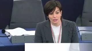 Lara Comi Plenaria Strasburgo 12 febbraio 2019