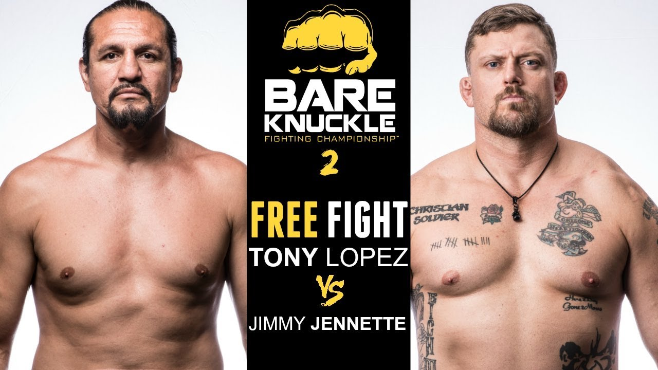 BKFC 2 FULL FIGHT: Tony Lopez vs Jimmy Jennette