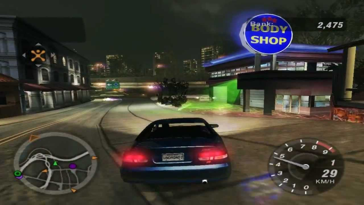 need for speed underground 2 discovering hidden shops. Black Bedroom Furniture Sets. Home Design Ideas