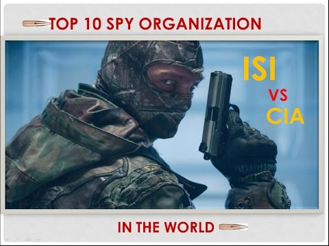 Top 10 SECRET INTELLIGENCE AGENCIES in the World
