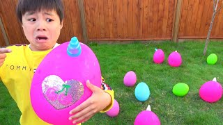 Preted play Gorilla eggs? Easter egg? / play restaurant no grocery ...