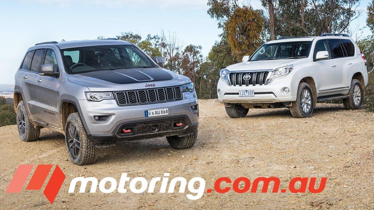 Jeep Grand Cherokee Trailhawk V Toyota Landcruiser Prado Altitude