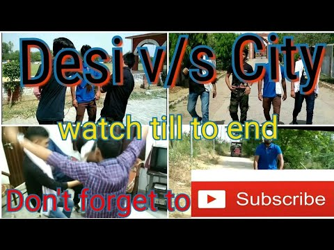 CITY BOYS VS. DESI BOYS||Feat. shivam||shikohabad buddy||