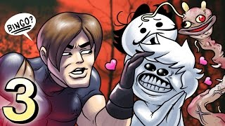 Oney Plays Resident Evil 4 WITH FRIENDS - EP 3 - They're Cumin