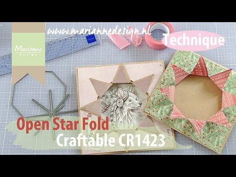 How to use the Open Star Cutting Die