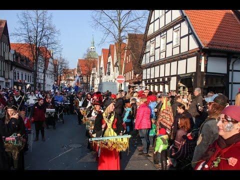 Rheda-Wiedenbrück 2015 , Rosenmontag - Karnevalszug