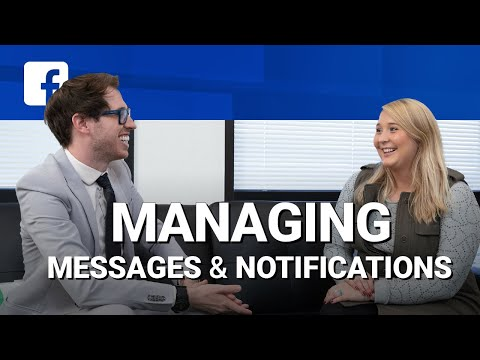 How To Manage Facebook Messages & Notifications 🔔