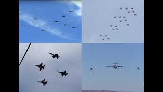 Military Flyovers & Training Exercises in Australia - Compilation