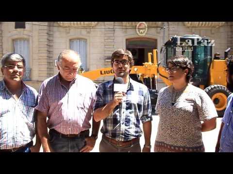 El Gobierno de la ciudad de La Paz adquirió una motoniveladora