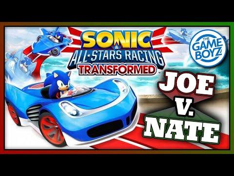 GOTTA GO SLOWER THAN I CAN RUN!!!  Sonic All Stars Racing Transformed | JOE V. NATE |