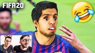Los MEJORES BUGS & FAILS de FIFA 20!!