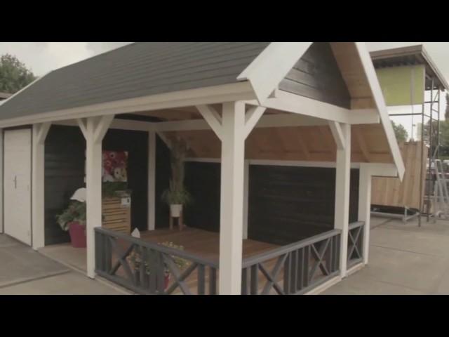 Lugarde Dachtypen: Satteldach