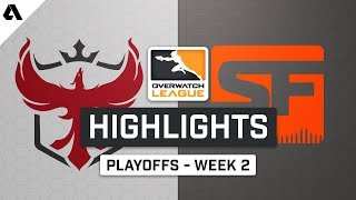 Atlanta Reign vs San Francisco Shock | Playoffs Week 2 | Day 2 - Overwatch League S2 Highlights