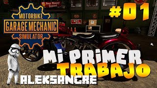 Motorbike Garage Mechanic Simulator #1 Primer trabajo - LET´s PLAY ESPAÑOL HD Best Gameplay