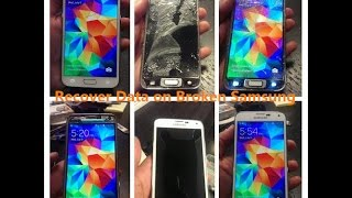 Samsung S5 Broken Screen Data Recovery - Recover Lost Files from Samsung S5 with Broken Screen