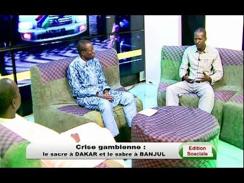 Edition Spéciale - Crise Gambienne: le sacre à Dakar et le sabre à Banjul - WALFTV