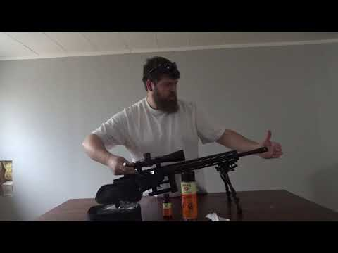 1 of 3 Ruger Bolt Action rifle bore cleaning with Range Maxx cleaning kit