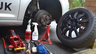 **Professional Wheels Off Detailing Guide**