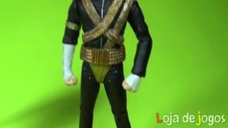 Michael Jackson - cinco figuras de ação do rei do pop - Loja de Jogos