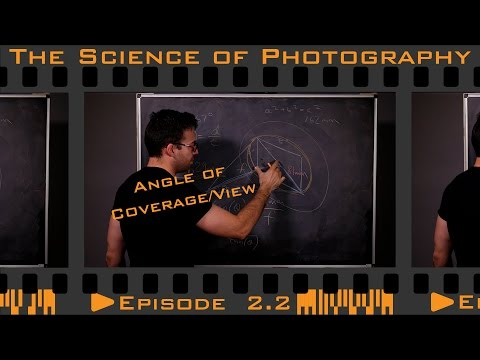 The Pinhole Camera - Angle of Coverage and Angle of View - Episode 2.2