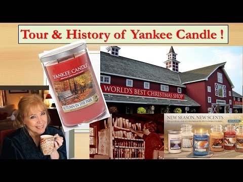 YANKEE CANDLE  Village Store Tour & History !