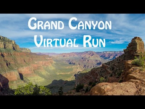 Grand Canyon National Park Virtual Rim to River Run Down South Kaibab Trail